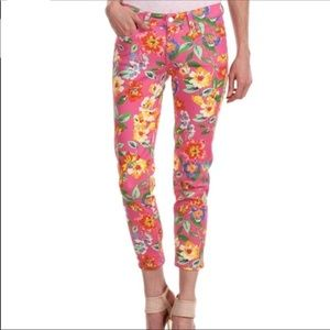 kate Spade Broome Street Floral Jeans
